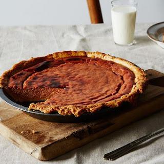 Brûléed Apple Butter Pie
