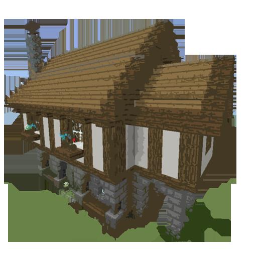 Step by step houses:Minecraft