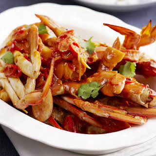Crab in Chili Sauce.