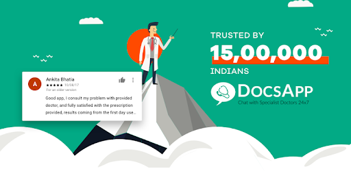 DocsApp - Consult Doctor Online 24x7 on Chat/Call app (apk) free download for Android/PC/Windows screenshot