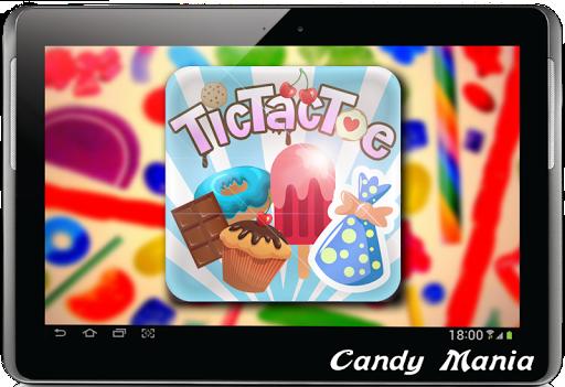 Tic Tac Toe Sweetmeat
