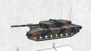 Leopard 2A4 ディティールちょいアップ版