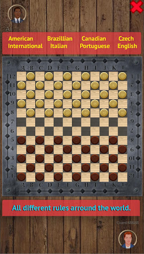 Checkers Online - Draughts Online & Offline android2mod screenshots 2