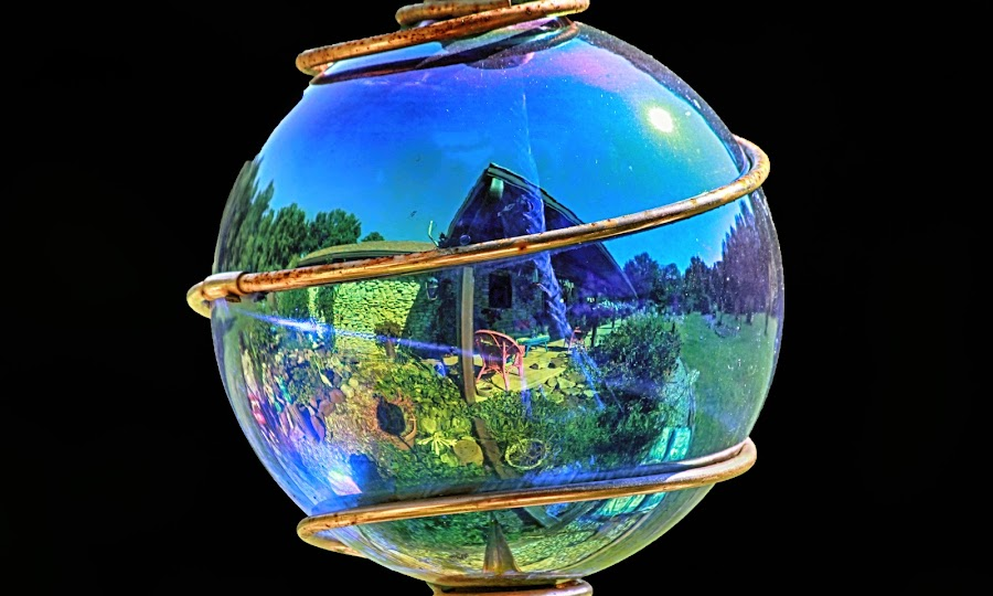 My World by Tony Allison - Artistic Objects Still Life ( reflection, color, happy, sunny, summer )