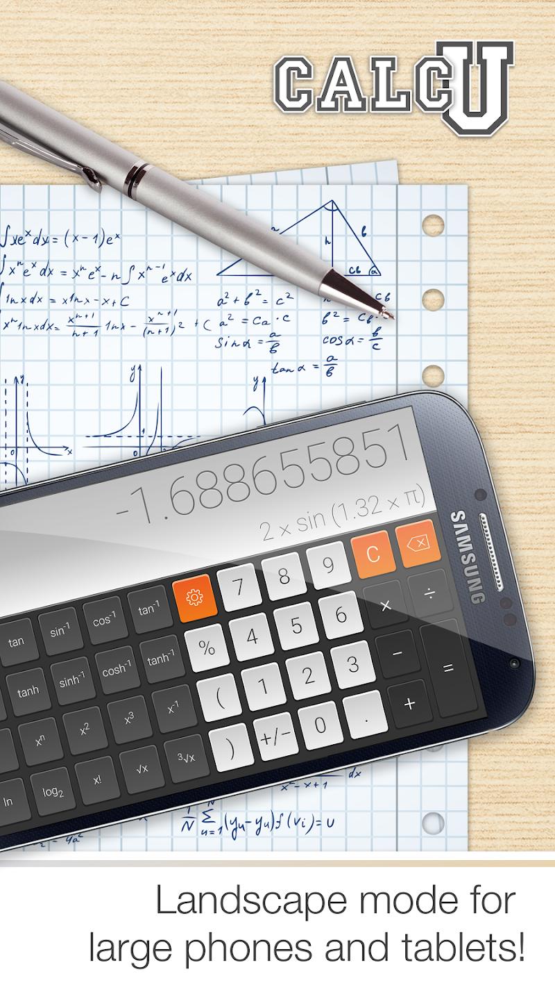 CALCU™ Stylish Calculator Free Screenshot 4