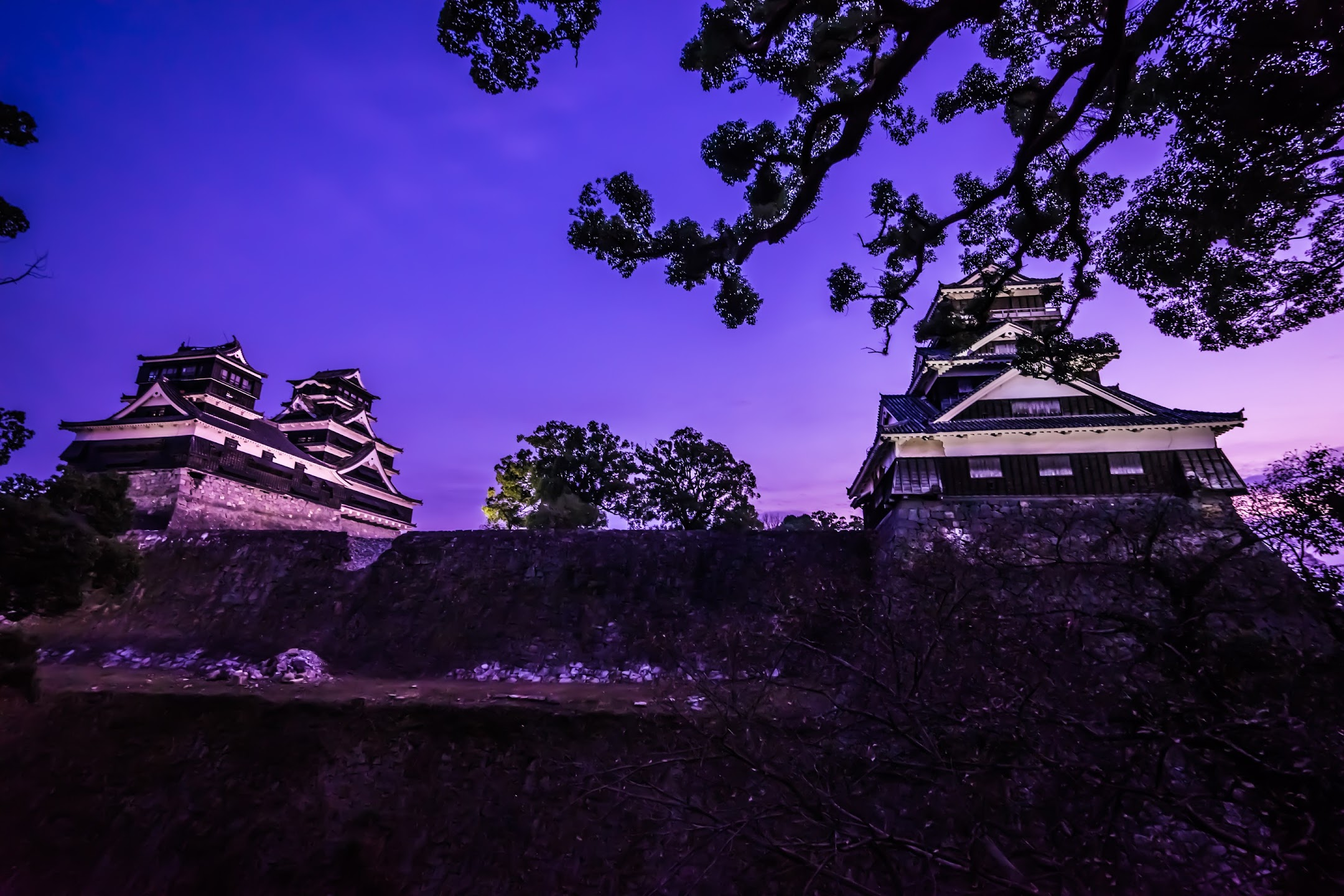 Kumamoto Castle Kato Shrine main castle tower3