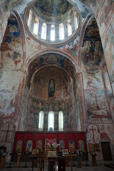 Fresken im Kloster Gelati.