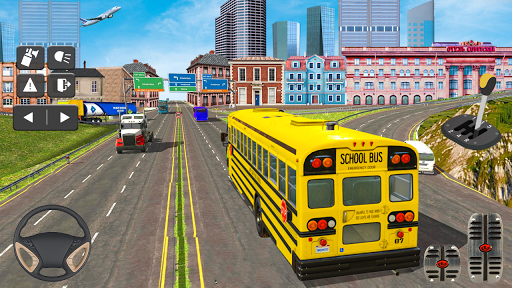 Coach Bus Simulator Game: Bus Driving Games 2020 apkmr screenshots 1