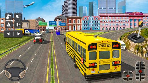 Coach Bus Simulator Game: Bus Driving Games 2020 apktram screenshots 1