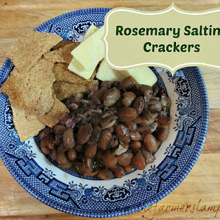 Rosemary Saltine Crackers