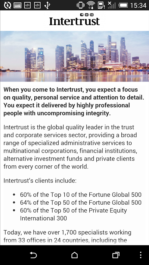 Intertrust- screenshot