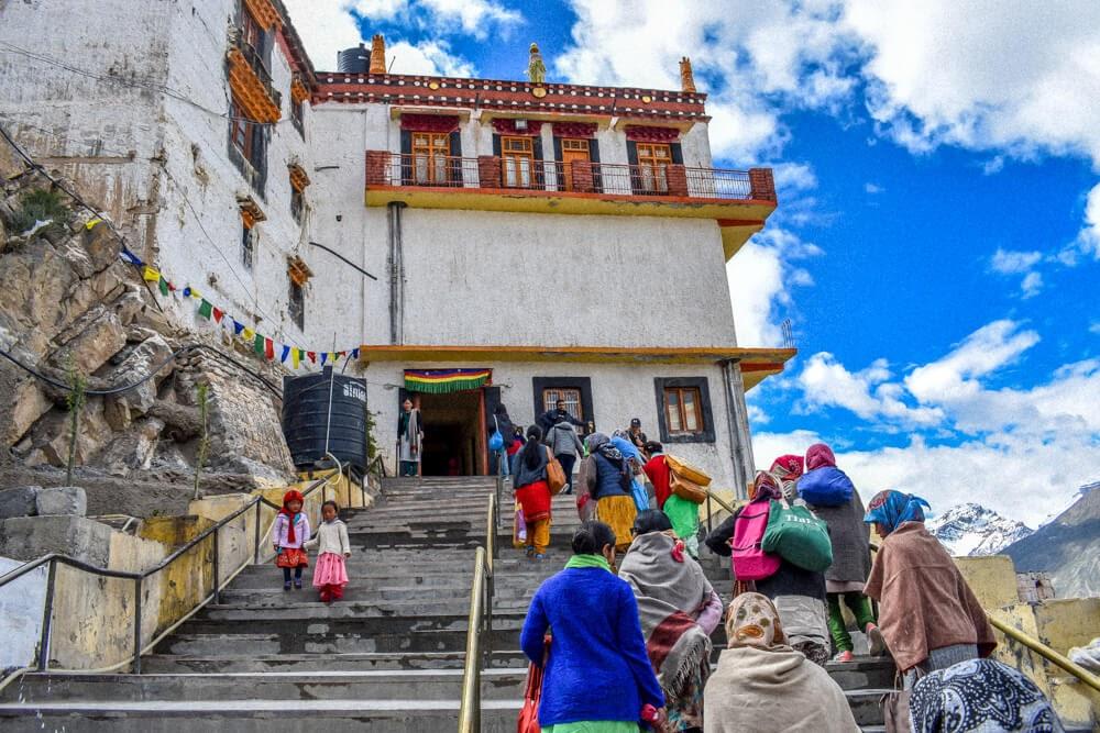 key+monastery+kaza+Spiti+valley+pics