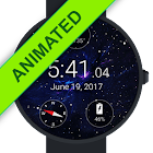 Animated Starfield Watch Face icon
