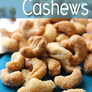 Easy Honey Roasted Cashews.
