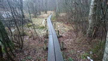 Vandring i Västanvik, Motalas första del av Östgötaleden
