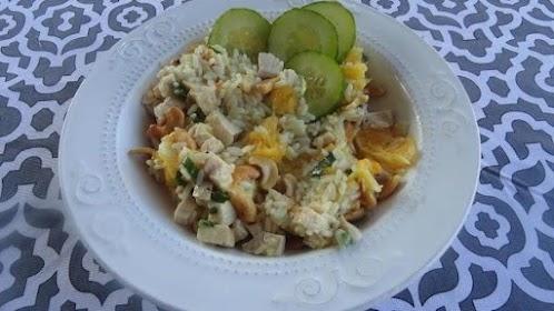 Click Here for Recipe: Orange Chicken Salad