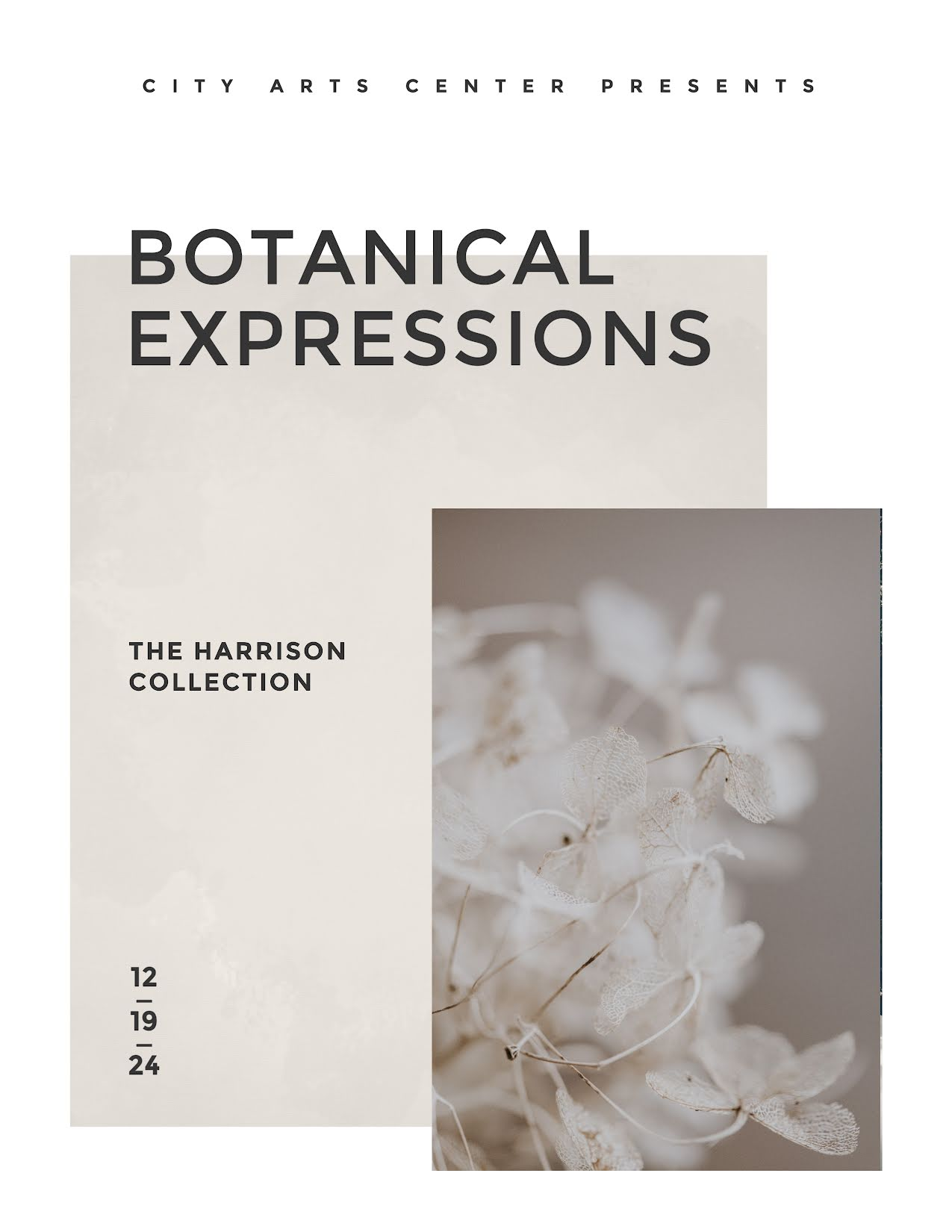Botanical Expressions - Flyer Template