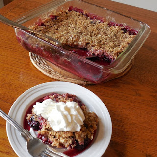 BLACKBERRY CRUMBLE Recipe