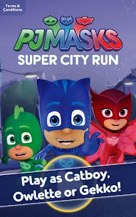 PJ Masks: Super City Run 1.0.5 Mod APK Updated 1