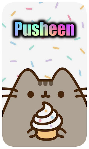 Cute Pusheen Backgrounds & Kawaii Cat Wallpapers 1.0 screenshots 5