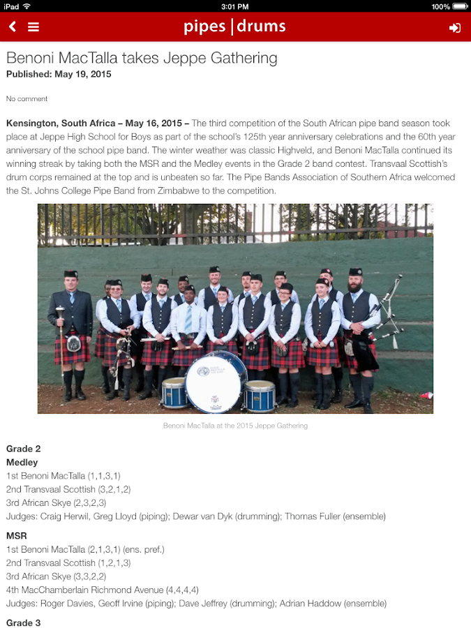 pipes|drums- screenshot