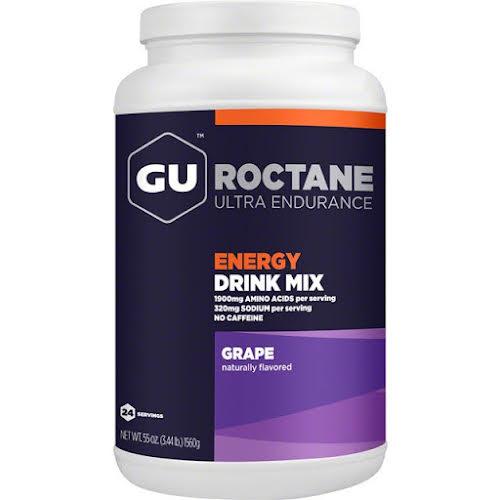 GU Roctane Energy Drink Mix: Grape, 24 Serving Canister