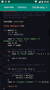 CPP N-IDE – C/C++ Compiler & Programming – Offline v1.2.4-armeabi-v7a [Premium] APK 3