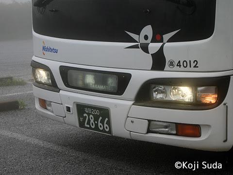 西鉄 4012 平尾台にて_07 坂出・高松