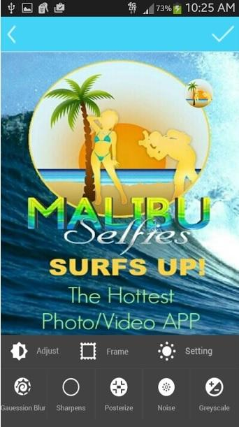 MalibuSelfies- screenshot