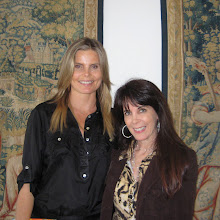 Photo: Mariel Hemingway and Julie Spira at Mariel's private book signing party in Malibu