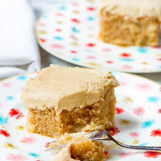 Apple Cake with Salted Caramel Frosting