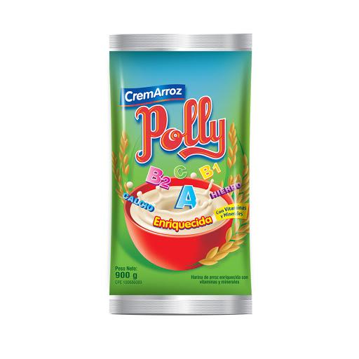 bebida en polvo crema de arroz polly enriquecida 900gr