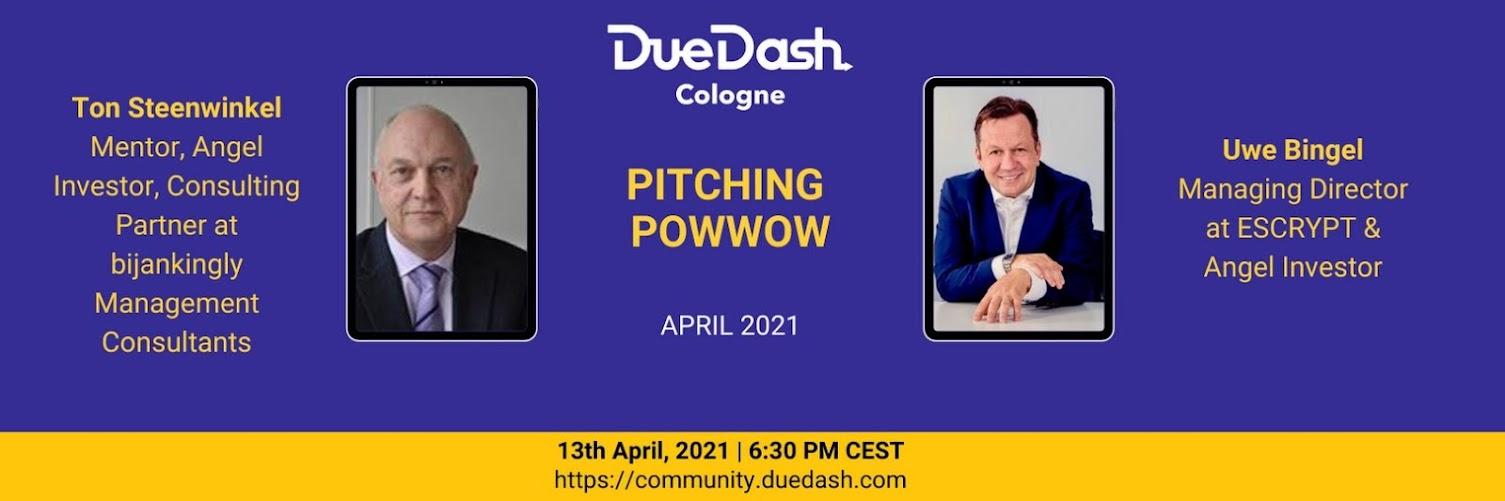 DueDash Cologne: Pitching PowWow April 21