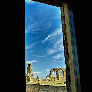 Whitby Abbey through window.jpg