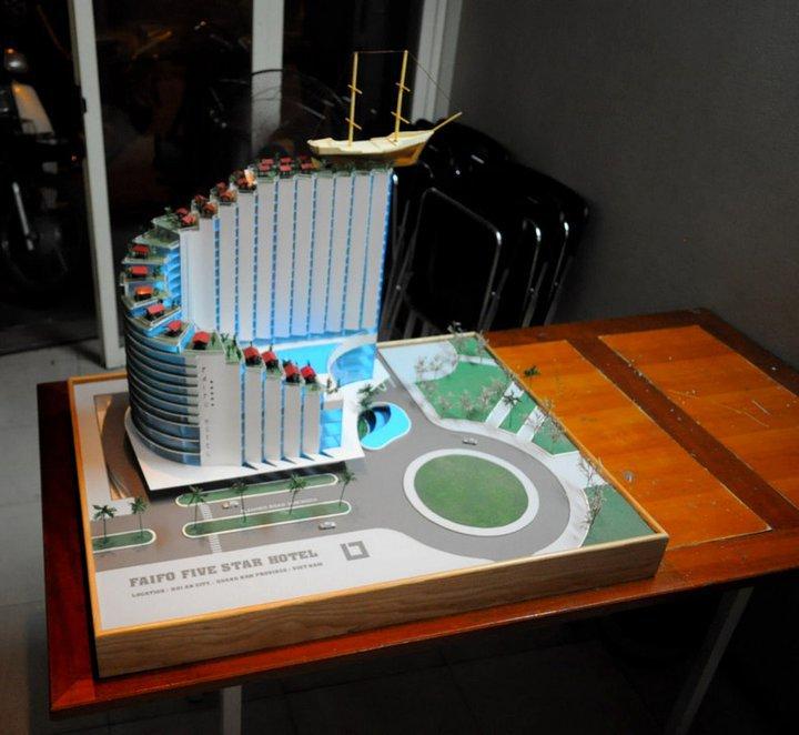 Mô hình công trình đầu tay ( 5 years ago )