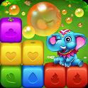 Happy Fruits Bomb - Cube Blast icon