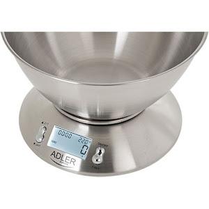Cantar din inox pentru bucatarie, digital 5 kg, Adler AD3134