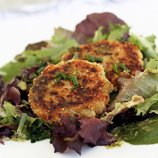 White Bean and Chive Patties.