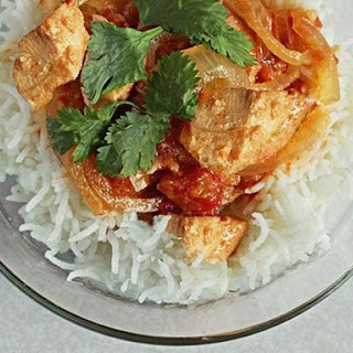 Spicy Slow-Cooker Chicken with Coconut Cream Sauce.