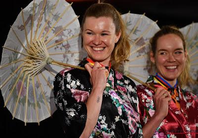 """Jolien D'hoore al helemaal ondergedompeld in Tokio-sfeer: """"Geweldig voor vrouwenwielrennen mocht dat lukken"""""""