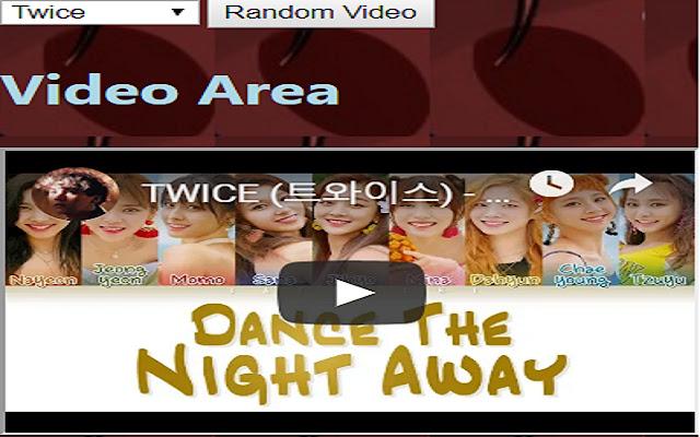 Play a Random KPOP Video