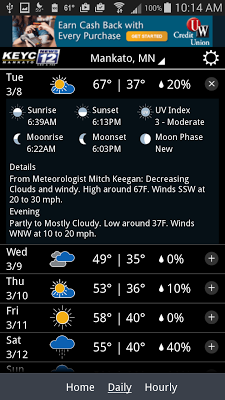 KEYC News 12 Weather - screenshot