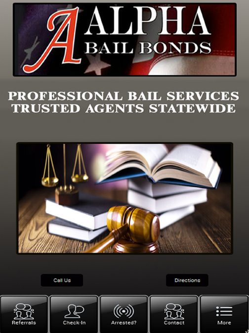 A Alpha Bail Bonds- screenshot