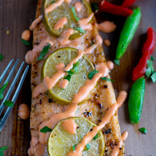 Cedar Plank Salmon Grilled