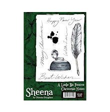 Sheena Douglass A Little Bit Festive Stamp - Christmas Note UTGÅENDE