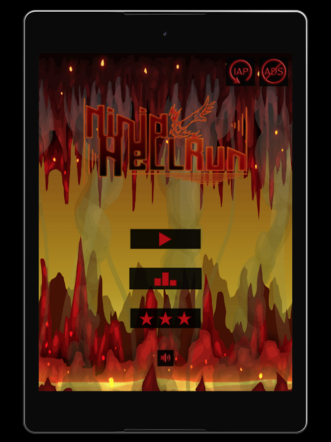 Ninja Hell Run- screenshot