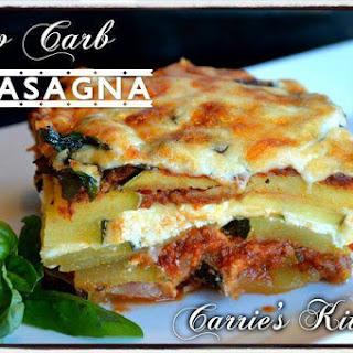 Low Carb Keto Lasagna.