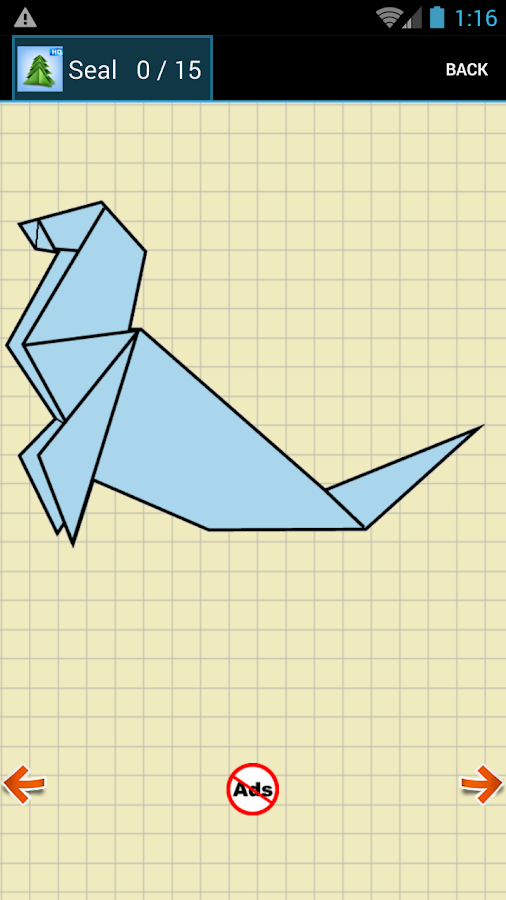 Origami Instructions- screenshot