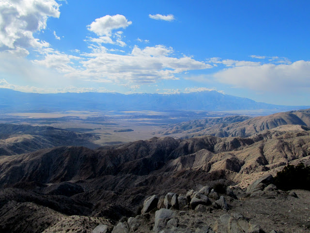 Keys View, facing Palm Springs and the San Jacinto Mountains