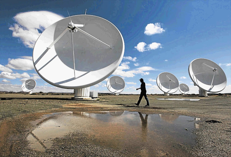 The SKA telescope project. Cape Town International Convention Centre will host enough collective intelligence to outperform even the largest Mensa groups' and then some. File photo.